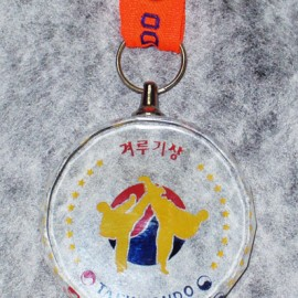 크리스탈 메달 [겨루기][sail]